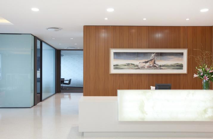 office reception areas. g reception areas