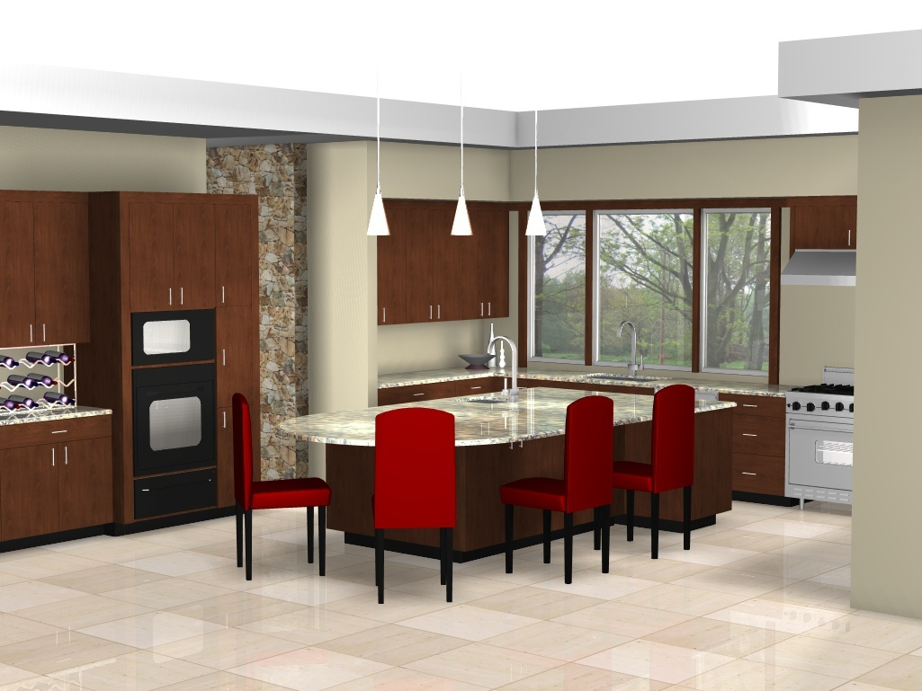 An Innovative New Computer Kitchen Design Package Allows Us To Create A Complete Picture Of Your New Contemporary Kitchens